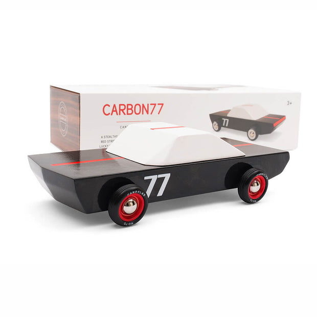Candylab Carbon 77 Toy Car