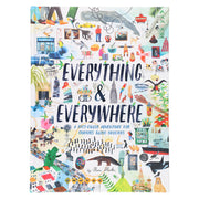 Chronicle Books Travel Book Everything Everywhere (A Fact-Filled Adventure for Curious Globe-Trotters) - nini & loli