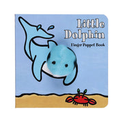 Chronicle Books Finger Puppet Book Little Dolphin - nini & loli