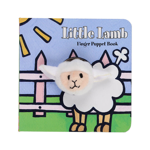Chronicle Books Finger Puppet Book Little Lamb - nini & loli