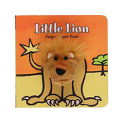 Chronicle Books Finger Puppet Book Little Lion - nini & loli