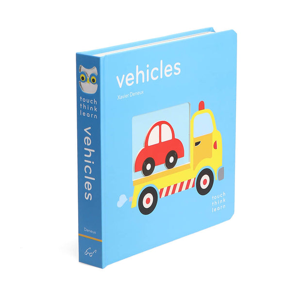 Chronicle Books TouchThinkLearn Book Vehicles - nini & loli