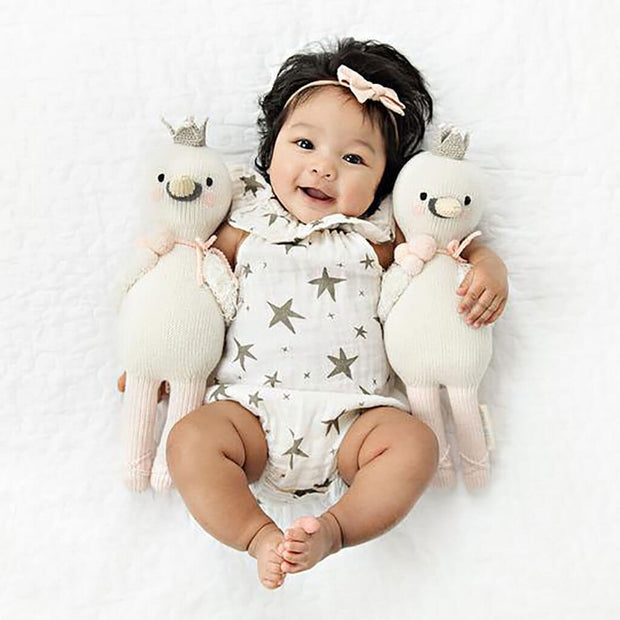 Cuddle and Kind Handmade Doll Harlow The Swan | NINI and LOLI