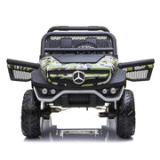 Electric Ride On Car Mercedes Benz Unimog Camo