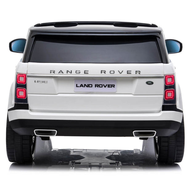Electric Ride On Car Range Rover White