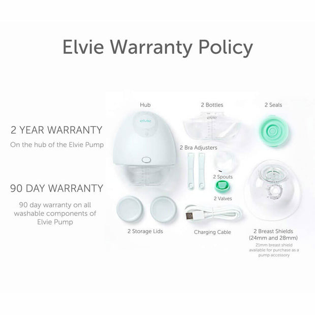 Elvie Double Electric Silent Breast Pump - nini & loli