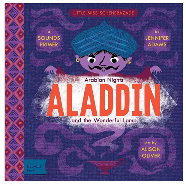 A BabyLit Sounds Primer Book Aladdin and The Wonderful Lamp - nini & loli
