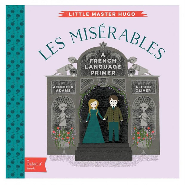 A BabyLit French Language Primer Book Les Miserable