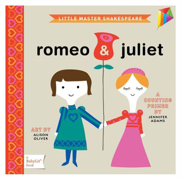 A BabyLit Counting Primer Book Romeo and Juliet - nini & loli