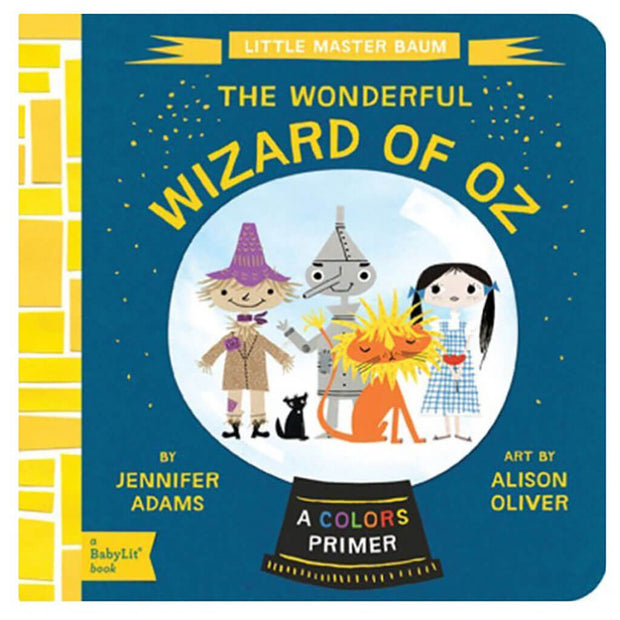 A BabyLit Colors Primer Book Wizard of Oz - nini & loli