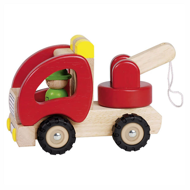 Goki Wooden Vehicle Breakdown Lorry