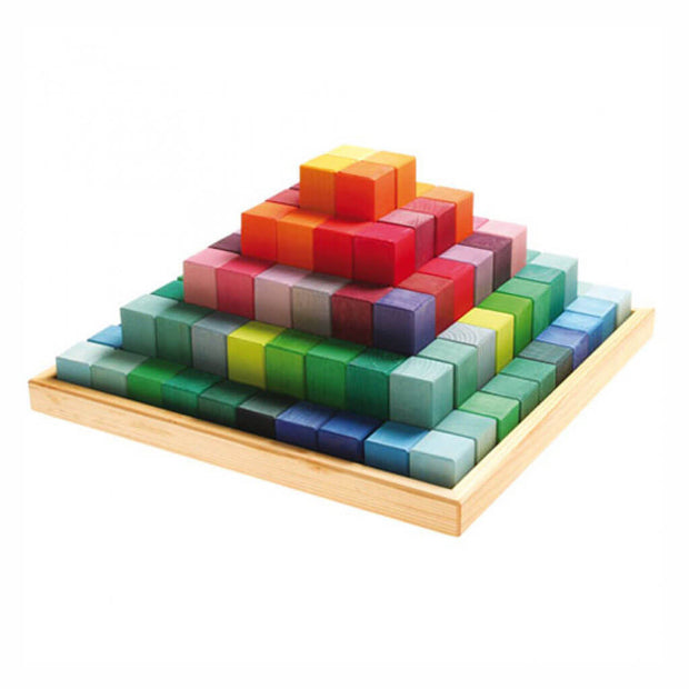 Grimm's Authentic Large Stepped Pyramid Blocks