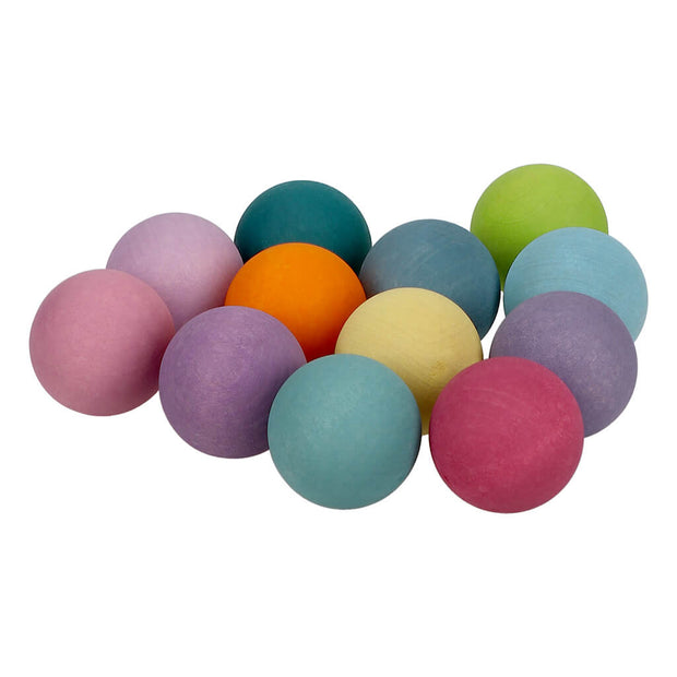 Grimm's Authentic Small Pastel Balls - nini & loli