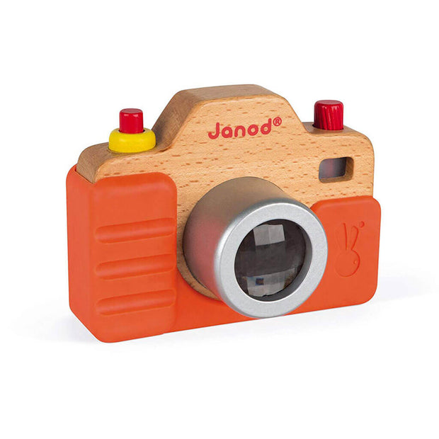 Janod Sound Camera Wood