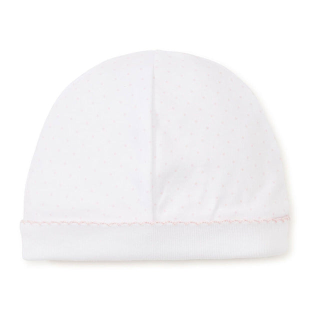 White/Pink | Kissy Kissy Print Dots Hat - White/Pink