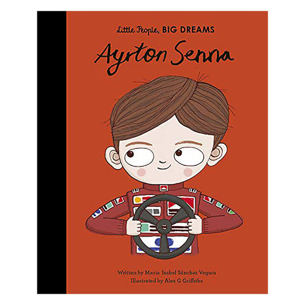 Little People, Big Dreams Book Ayrton Senna - nini & loli
