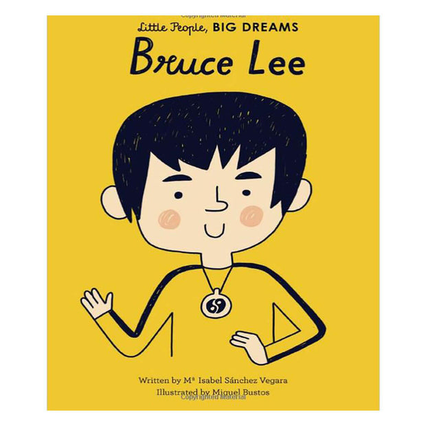 Little People, Big Dreams Book Bruce Lee - nini & loli