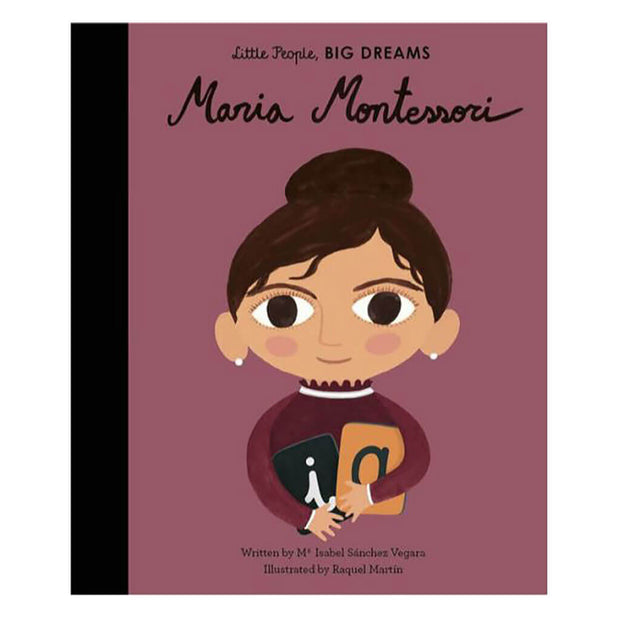 Little People, Big Dreams Book Maria Montessori - nini & loli