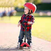 Micro Kickboard Scooter Mini 3in1 Deluxe Red - nini & loli