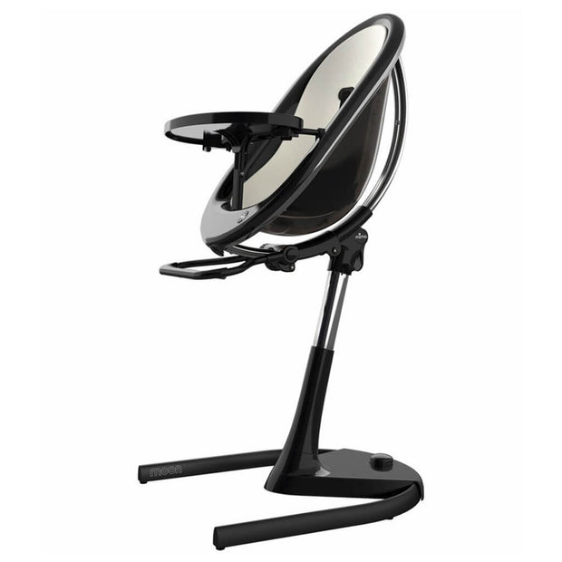 White | Mima Moon 2G High Chair Black - White