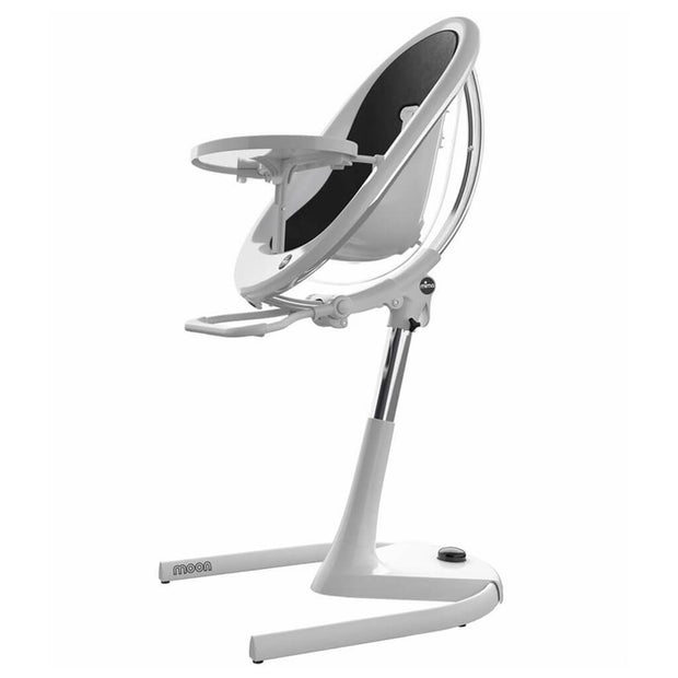 Black | Mima Moon 2G High Chair White - Black