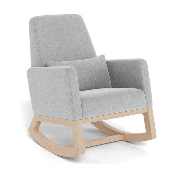 Monte Design Joya Rocker Nordic Grey Clear Maple Base