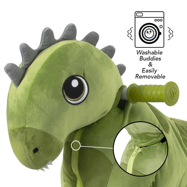 My Buddy Wheels Plush Balance Bike Dinosaur - nini & loli