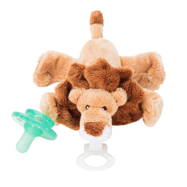 Nookums Paci Plushies Pacifier Holder Leon Lion