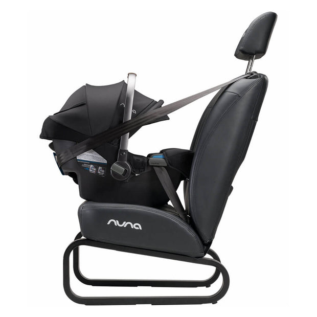 Nuna Pipa RX Infant Car Seat + RELX Base Caviar - nini & loli