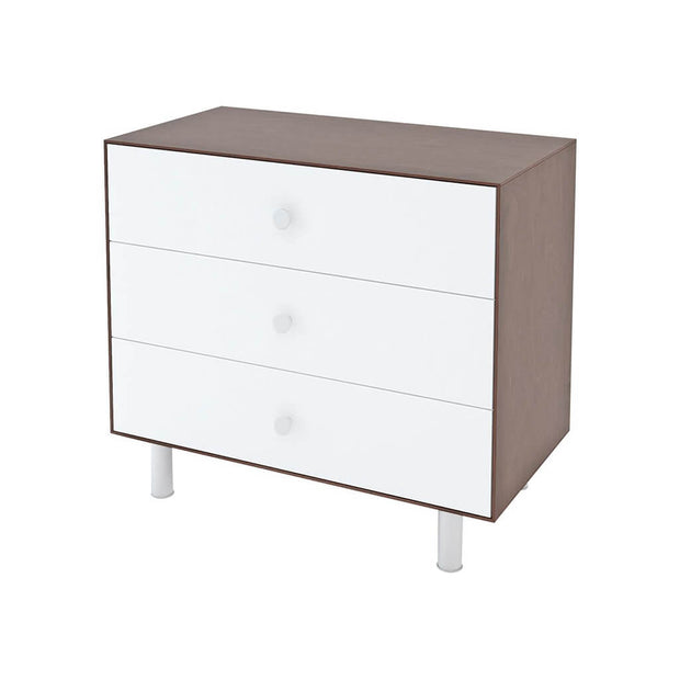 Oeuf Classic 3 Drawer Dresser White Walnut - nini & loli