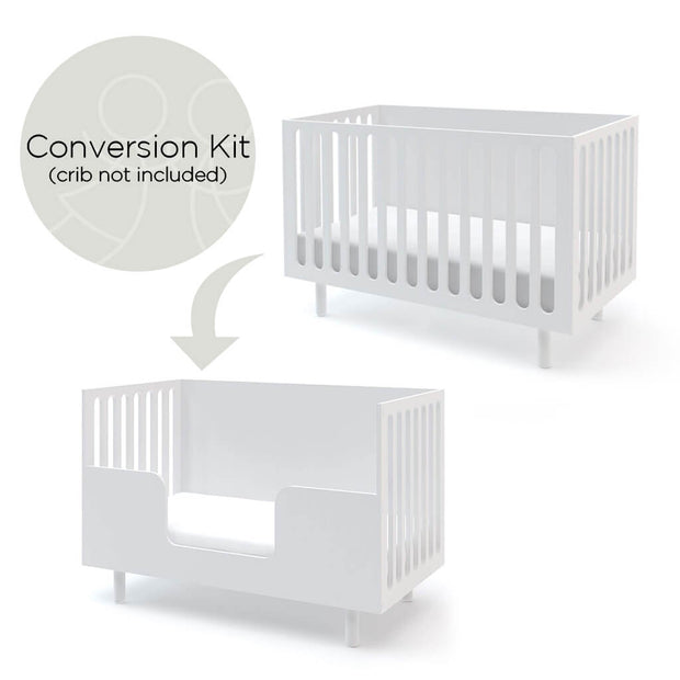 Oeuf Fawn Conversion Kit White *Crib not included* - nini & loli