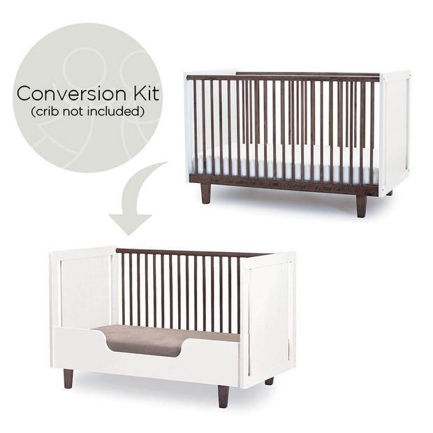 Oeuf Rhea Conversion Kit White *Crib Not Included - nini & loli