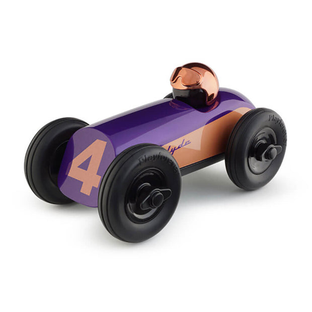 Playforever Midi Clyde Race Car Toy Purple