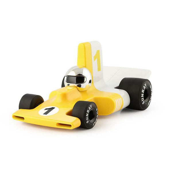 Playforever Toy Car Velocita Yellow - nini & loli
