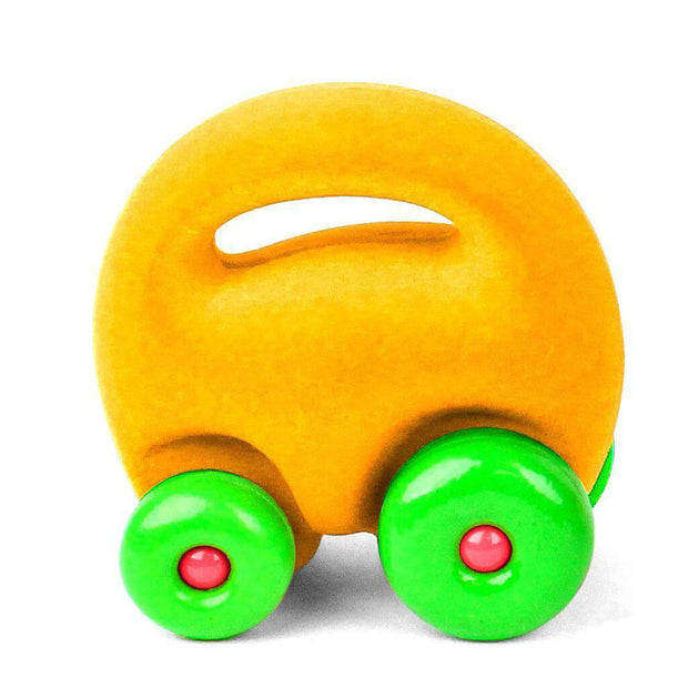 Rubbabu Toy Mascot Car Yellow - nini & loli