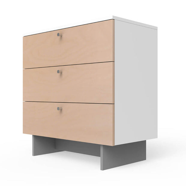 "Spot on Square Roh Dresser 3 Drawer Birch/White 34"" - nini & loli"