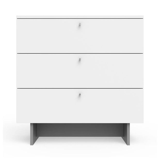 "Spot on Square Roh Dresser 3 Drawer White 34"" - nini & loli"