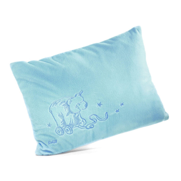 Steiff Cuddly Pillow Blue - nini & loli