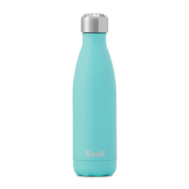 Swell Bottle Turquoise 17 Ounce - nini & loli
