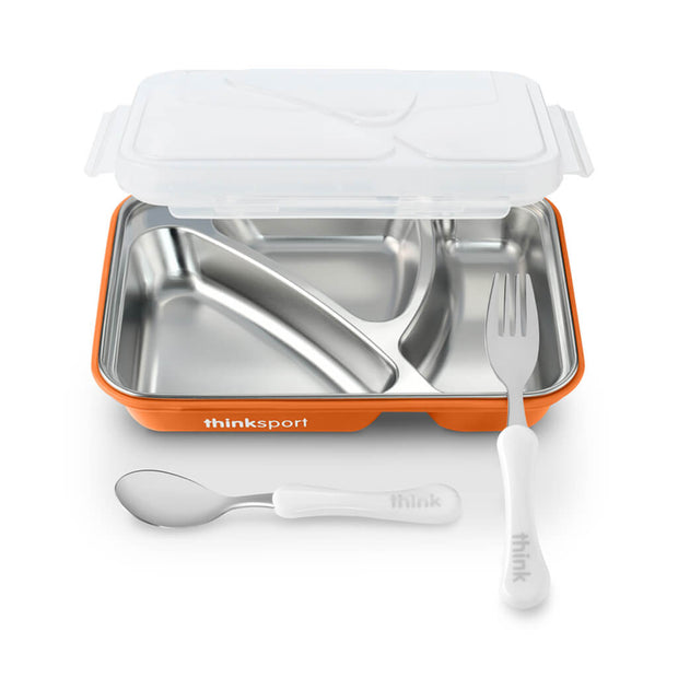 ThinkBaby GO2 Lunch Container Orange - nini & loli