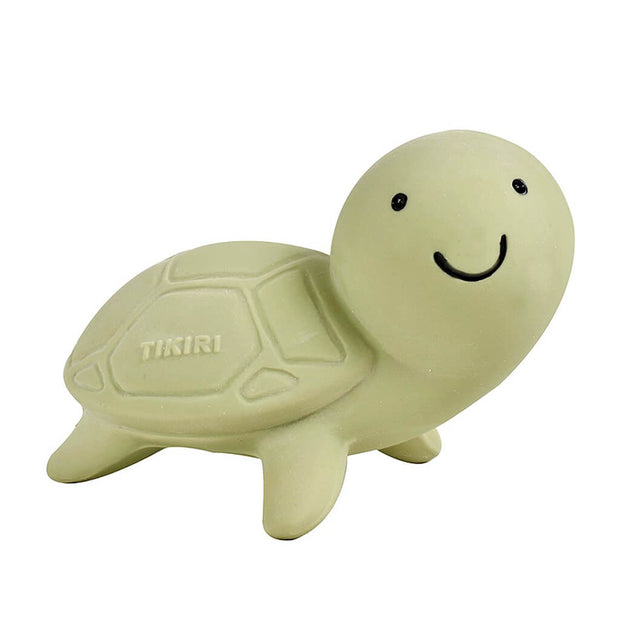 Tikiri Turtle Natural Rubber Rattle