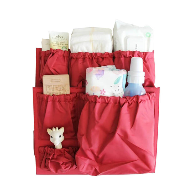 Luxe Red | Totesavvy Original Tote Organizer Insert Luxe Red | NINI and LOLI