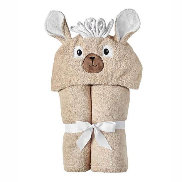 Yikes Twins Hooded Towel LLama - nini & loli