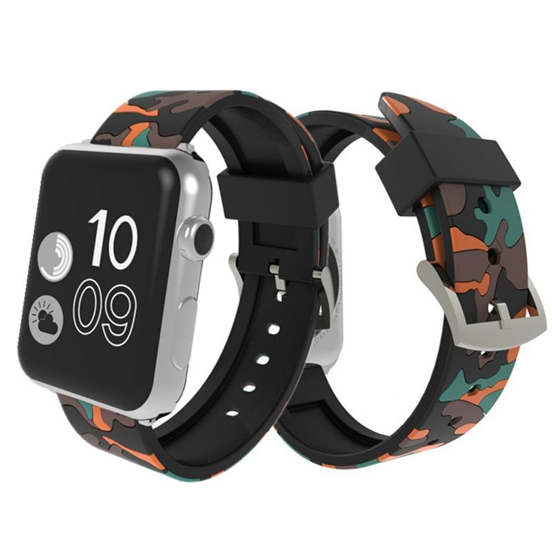 Camouflage Apple Watch Band Benefico