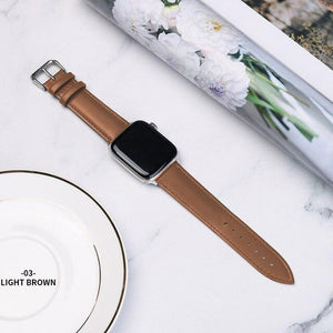 Casual Leather Apple Watch Band Apple Watch Band Benefico