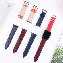 Load image into Gallery viewer, Casual Leather Apple Watch Band Apple Watch Band Benefico