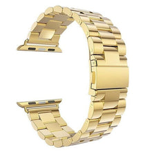Load image into Gallery viewer, Metal Apple Watch Band Apple Watch Band Benefico Gold 42mm or 44mm