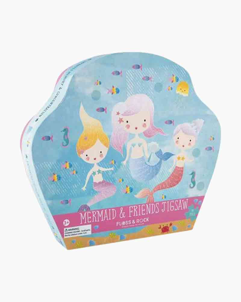 Mermaid & Friends Puzzle, 40 Piece
