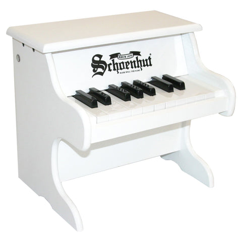 White Toy Piano