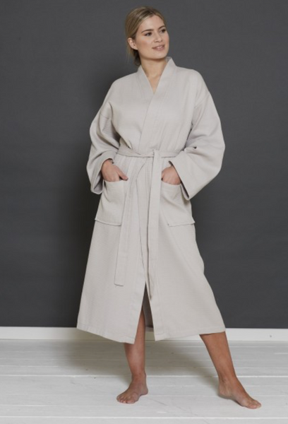 The Florence Waffle Bathrobe - Sleep Wonderful